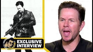 MILE 22 Exclusive Mark Wahlberg Interview (2018) JoBlo