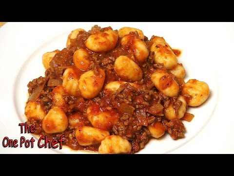 Quick Beef With Gnocchi | One Pot Chef