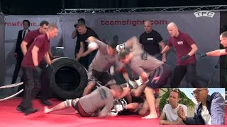 MMA Team Fighting (TFC) Czech Republic vs Ukraine (Commentary Breakdown)