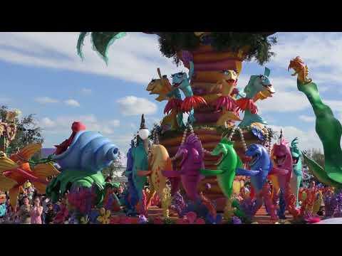 Disney Festival of Fantasy Parade 16/11/2017 - Magic Kongdom 迪士尼幻想慶典巡遊