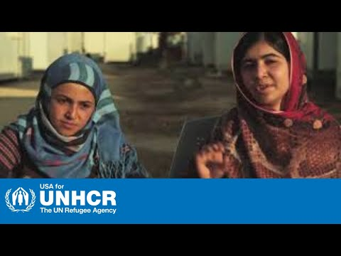 Malala's Plea for Syrian Refugees