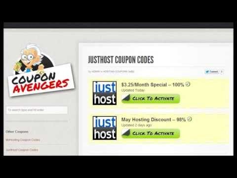 JustHost Coupon Code [UPDATED] - Save Big Money!!