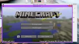 Crack Minecraft avec nouveau launcher
