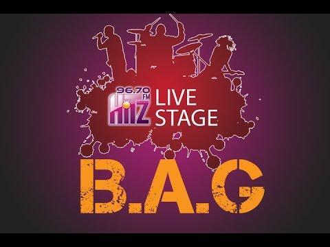 Live Stage 96.7 Hitz FM | B.A.G - Jangan Bilang Dulu