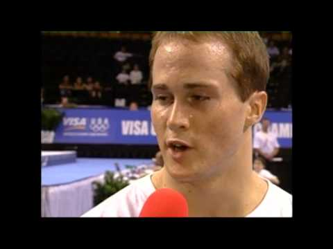 Paul Hamm Interview - 2004 U.S. Gymnastics Championships - Men