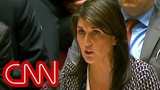 Nikki Haley slams Russia at UN Security Council meeting
