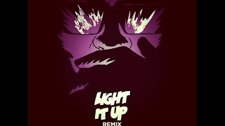 Major Lazer - Light It Up (feat. Nyla & Fuse ODG) [Remix] ( Chopped And Screwed )