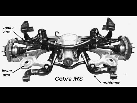 How to remove Cobra IRS Rear differential: Ford Mustang