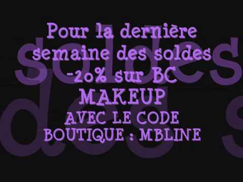 Soldes bc makeup peggy sage 20 pour la fin des soldes enjoy o youtube - La fin des soldes ...