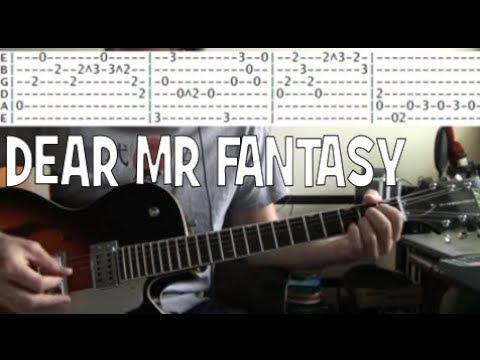 Traffic Dear Mr Fantasy Guitar Tab Chords Lesson Youtube