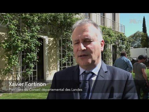 Xavier Fortinon nouveau Président du Conseil départemental des Landes