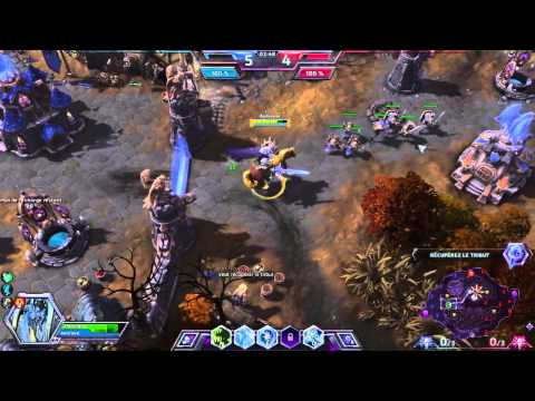 [FR] Découverte d'Heroes of the storm !!! (reduffusion Twitch) - 1 / 2