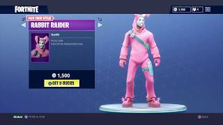 NOUVEAU BUNNY BRAWLER - RABBIT RAIDER SKINS EASTER SKINS (Fortnite Battle Royale #44)
