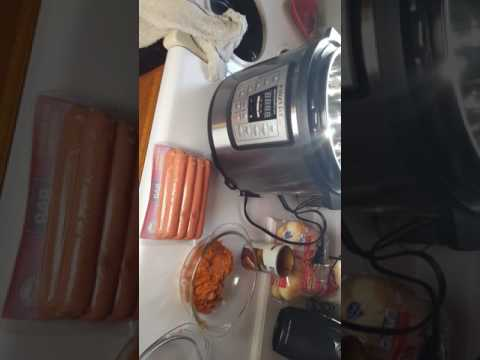 easy-instant-pot-meals!-hot-dogs-&-coney-sauce.