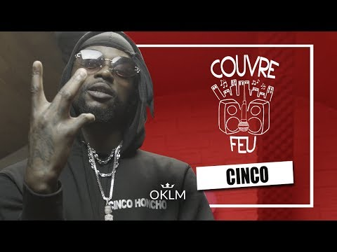 Youtube: CINCO – Freestyle COUVRE FEU sur OKLM Radio