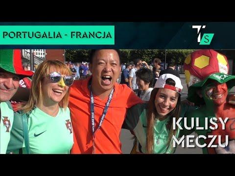 Portugalia - Francja 1-0. Kulisy meczu