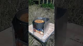 춘장대 캠핑요리 참치김치찌개