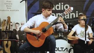 #VoltajAcademy -Radu Alexandru (moment de chitara clasica)