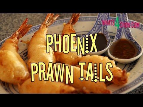 Phoenix Prawn Tails. Chinese Prawns Deep-fried In A Light Crispy Batter.
