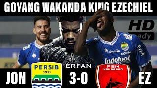 Cuplikan Gol PERSIB-PSM 3-0 All Goals Highlights 23 Mei 2018 Tadi Malam. Duet JonEz EZECHIEL BAUMAN
