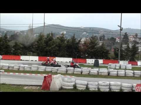 "F1 FANS KART Challenge ""ATHENS"" 2014 - RACE 1 - ( 3D )"