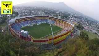 Las vistas del estadio Cuscatlán