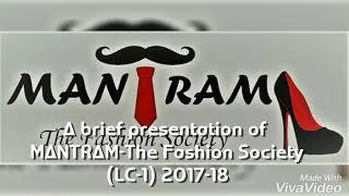 MANTRAM   The Fashion Society   Law center-1 (LLB)   University of Delhi   Fashion Show  
