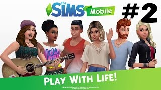 THE SIMS MOBILE Android / iOS Gameplay - #2