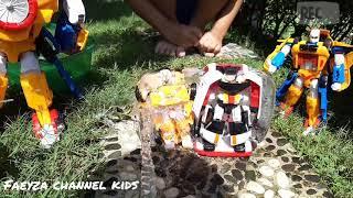 (Frozen Tobot X & V ) Tobot Mini Tritan, Tobot Titan Badai