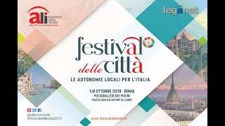Festival delle Città 2019 - Le Città e la sfida della legge di biancio