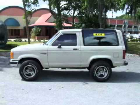 1989 Ford Bronco Ii Homosassa Fl Youtube