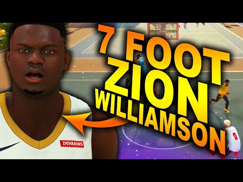 7 Foot ZION WILLIAMSON Is THE Best Build In NBA 2K20.. JOIN MY PRO-AM TEAM Sponsored By - 2K