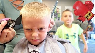 4-YEAR-OLD HAiRCUT FiGHT