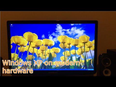Windows XP 64 bit in Modern Hardware