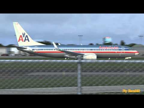 The American Airlines Boeing 737-800 (ROCKETS Out Of KBUF)