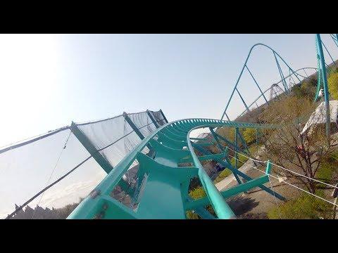Leviathan POV *REAL* Front Seat OnRide Canada's Wonderland 2012 B&M Giga Roller Coaster