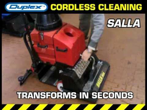 Duplex Industrial Salla floor scrubber