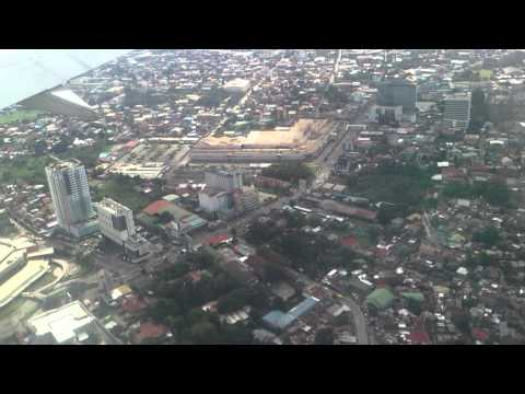 Davao city Aerial video December 25, 2013