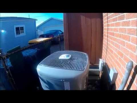 A/C Maintenance On A Carrier Infinity 2 Ton 17 SEER  24ana7