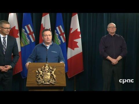 Alberta Premier Jason Kenney provides update on COVID-19 response – March 23, 2020