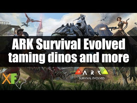 Ark Survival Evolved Xbox One: Taming Dinosaurs and other Animals