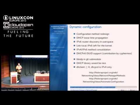 Architectural Changes in NetworkManager - Pavel Šimerda, Red Hat Czech