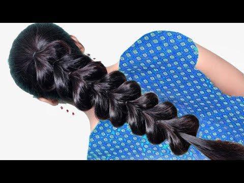 Beautiful Braid Hairstyle for girls | wedding guest hairstyles | hair style girl | hairstyles thumbnail