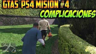 GTA 5 PS4  Gameplay en español  Misión 4 Complicaciones