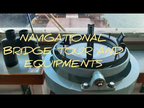 Nav. Bridge Tour And Equipments Of Bulk Carrier Ship   Vlog 01