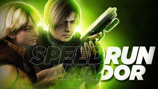 AO VIVO RESIDENT EVIL 4 SPEEDRUN NEW GAME AMADOR