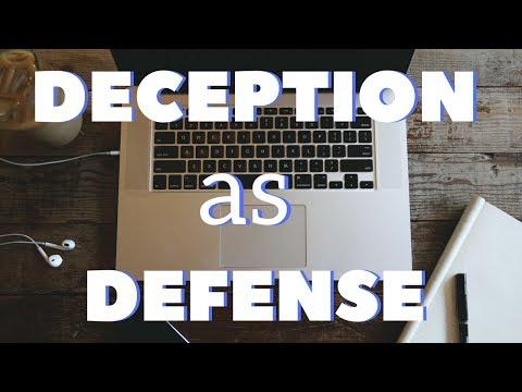 Deception as a Defense Becoming Mainstream?