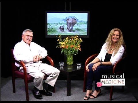 "Musical Medicine with Soleil Dakota  ""Elephant Crisis""  Marty Perlmutter Part 1  Marin TV"