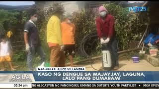 Bilang ng tinamaan ng sakit na dengue sa Majayjay, Laguna, dumarami