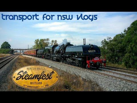 Transport for NSW Vlog No.927 2016 Hunter Valley Steamfest